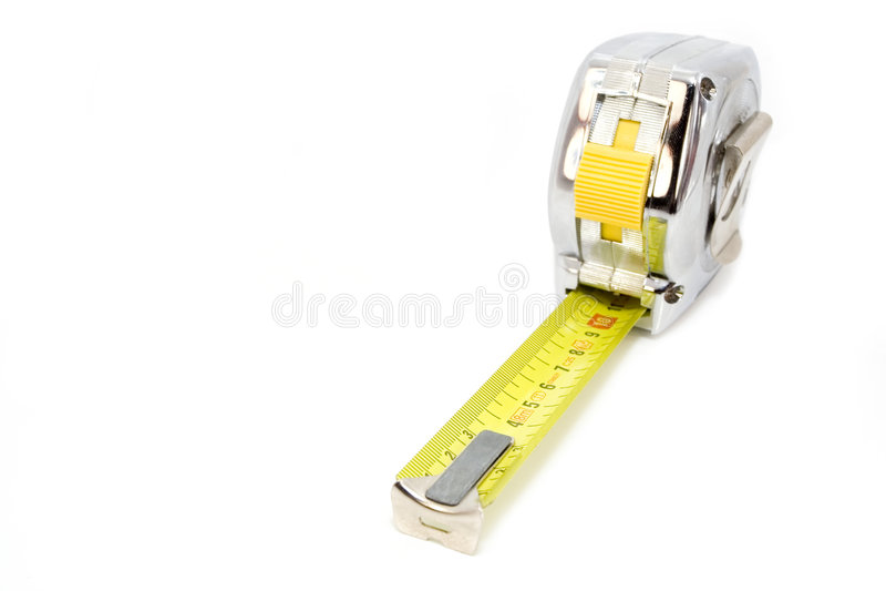 Mesureuse métallique de bande images stock