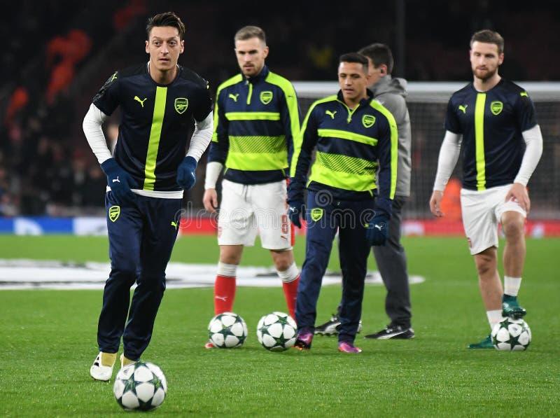 Mesut Ozil stockfoto
