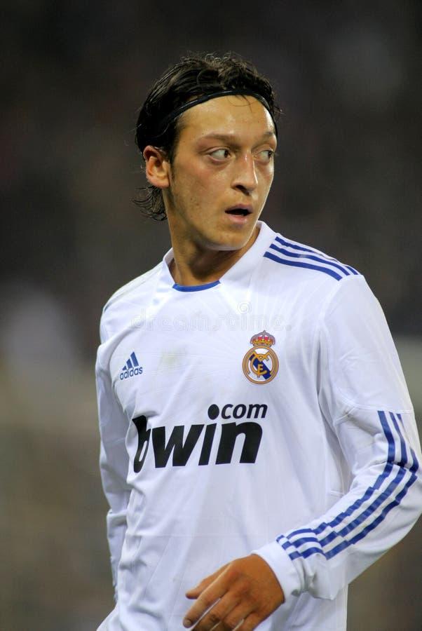 Mesut Ozil van Real Madrid royalty-vrije stock foto's