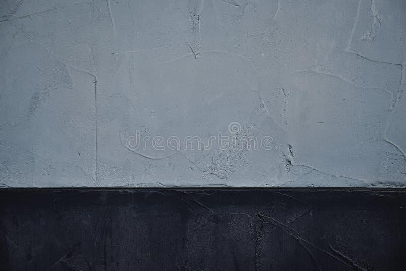 Metà del cemento di struttura bianca retro della parete immagine stock libera da diritti