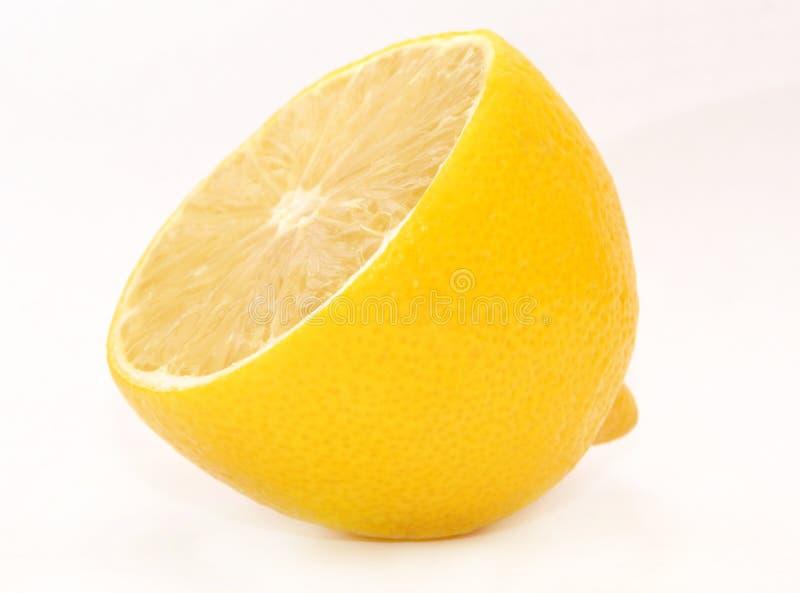 Metà del limone fotografia stock libera da diritti