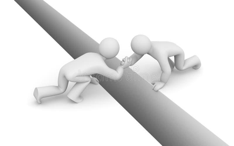 Metáfora de la ayuda. Sociedad