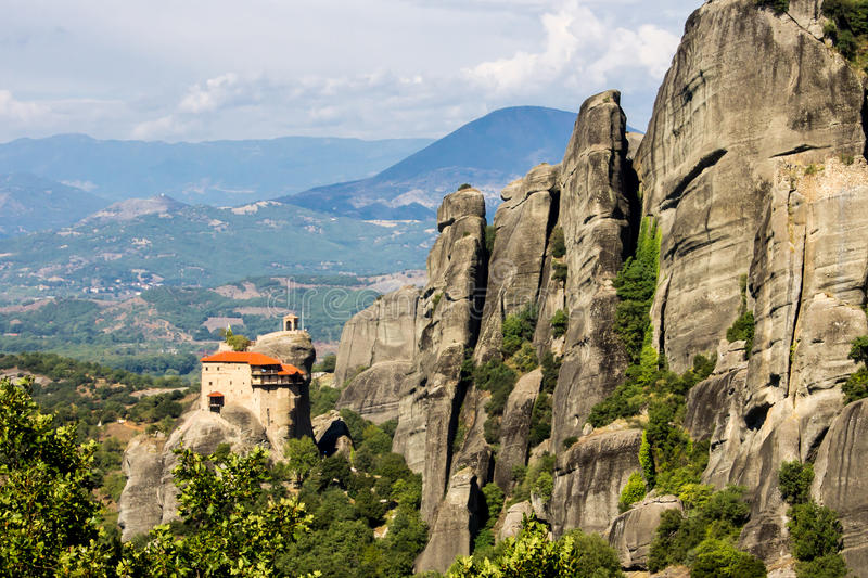 The Metéora royalty free stock photo
