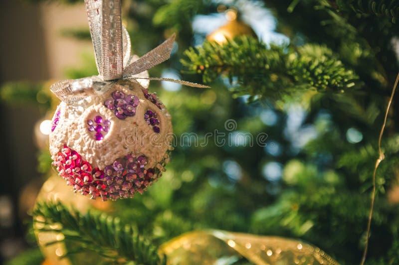 Met de gedachte van Kerstmis royalty-vrije stock foto