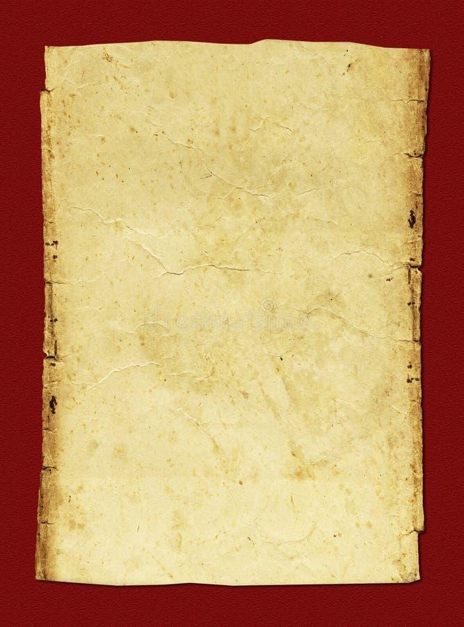 Met de hand gemaakt document achtergrond/behang stock foto