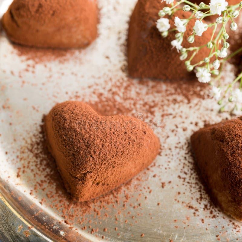 Met de hand gemaakt suikergoed Tiramisu royalty-vrije stock fotografie