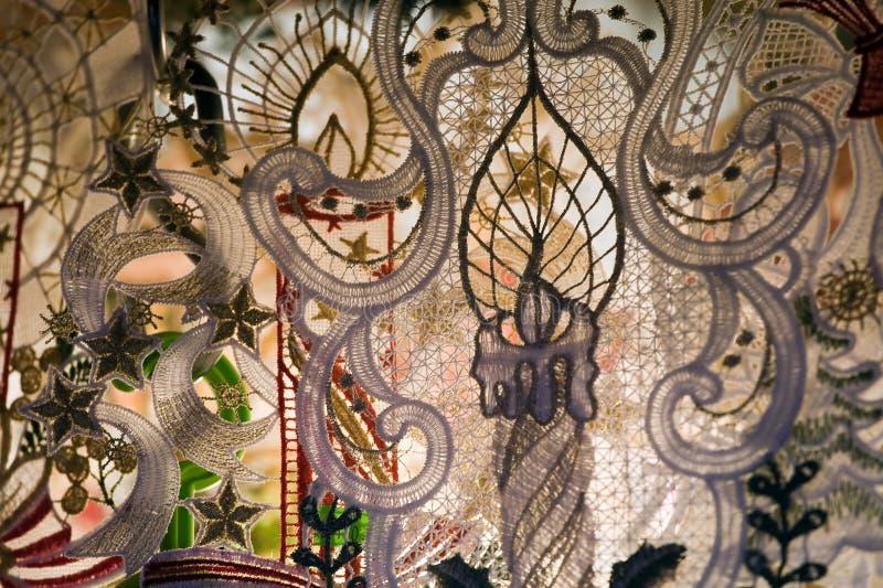 Met de hand gemaakte decoratie royalty-vrije stock foto
