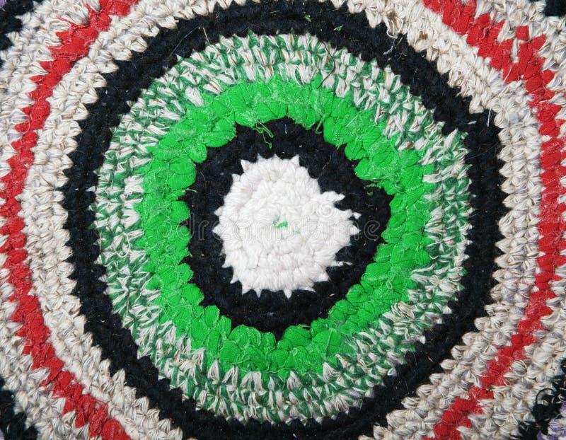 Met de hand gemaakte deken stock afbeelding