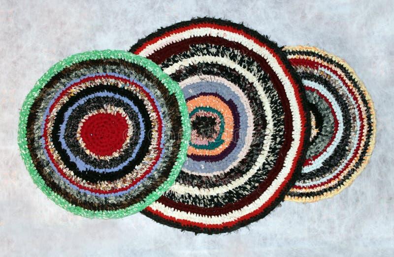 Met de hand gemaakte dekens royalty-vrije stock afbeelding