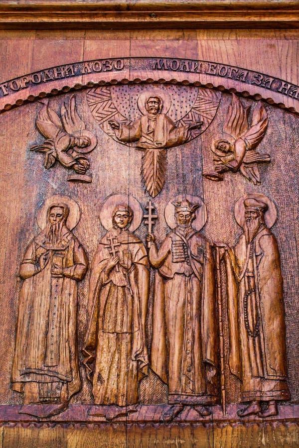 De houten Kerk van het Werk royalty-vrije stock foto