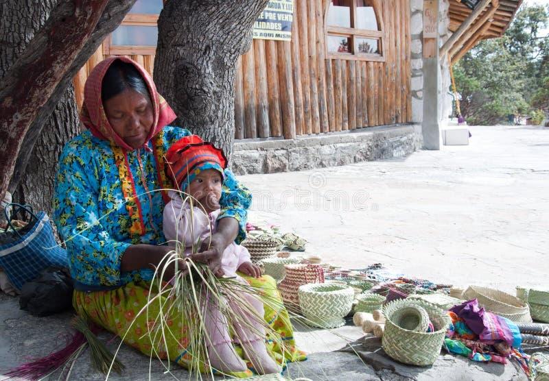 Met de hand gemaakte Tarahumara royalty-vrije stock fotografie