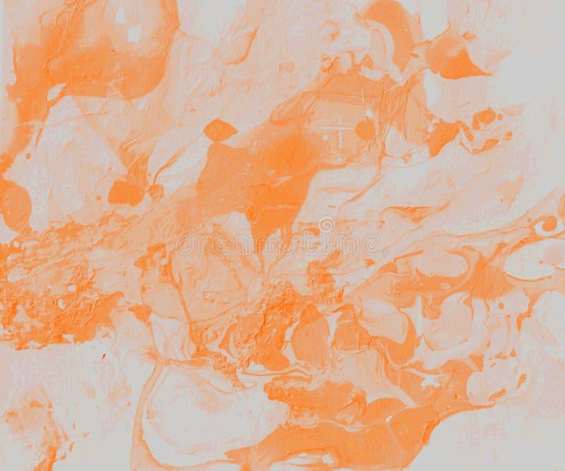 Met de hand geschilderde Abstracte Achtergrond royalty-vrije illustratie
