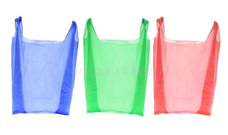 met en sac des achats en plastique image stock