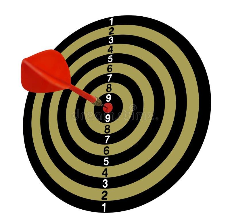 meta Blanco Full-1 Flechas rojas en el centro Tono de color caqui libre illustration