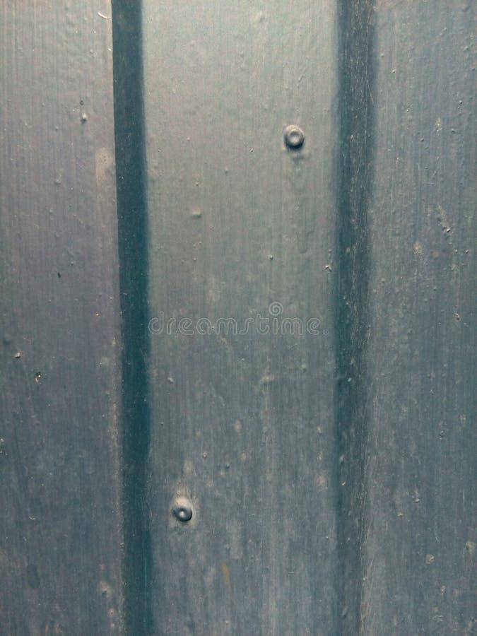 Metaal blauw geribbeld paneel stock foto