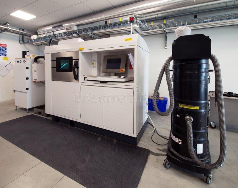 Metaal 3D printers & x28; DMLS& x29; royalty-vrije stock fotografie