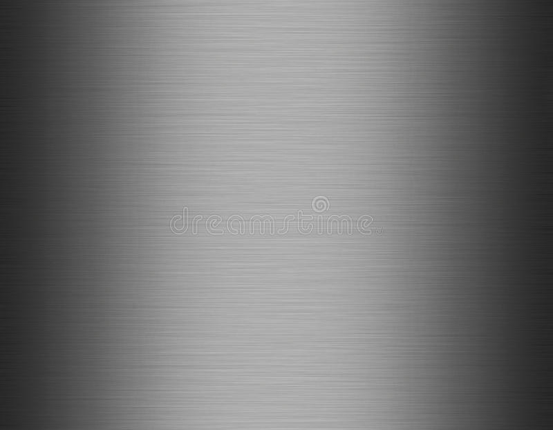 Metaal, de achtergrond van de roestvrij staaltextuur royalty-vrije illustratie