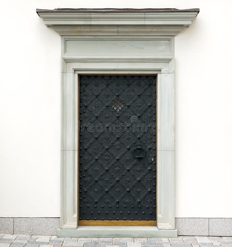 Metaal decoratieve deuren stock foto