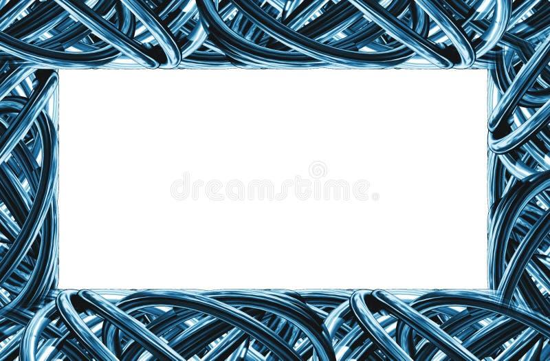 Metaal frame 4 vector illustratie