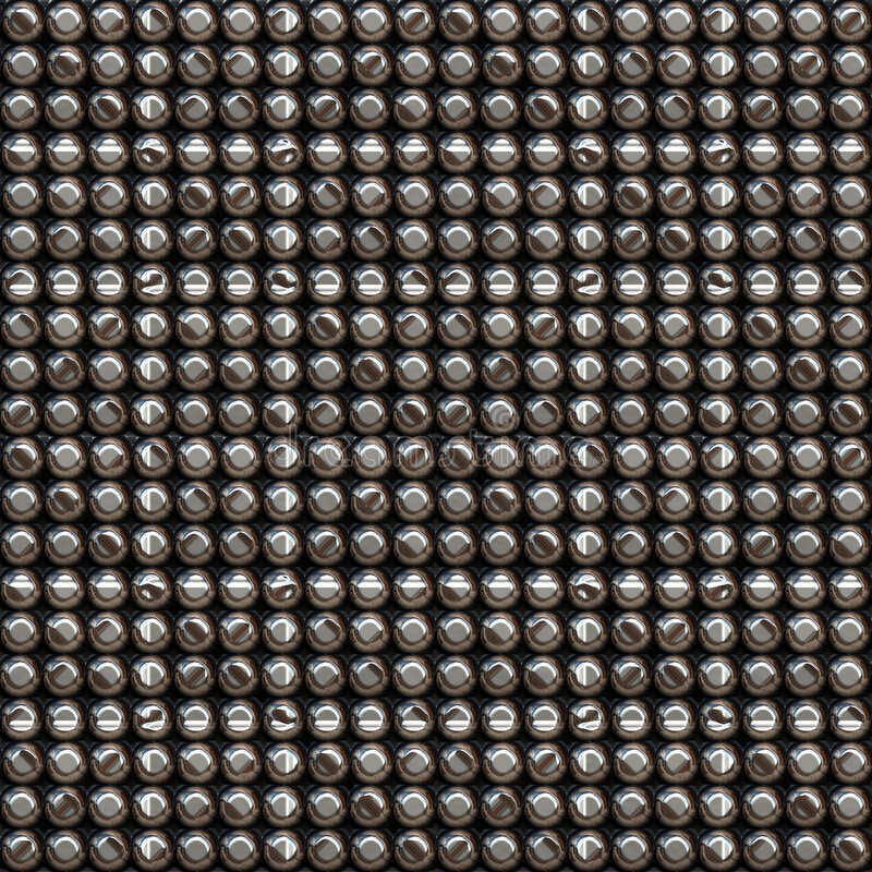 Metaal knopenpatroon vector illustratie