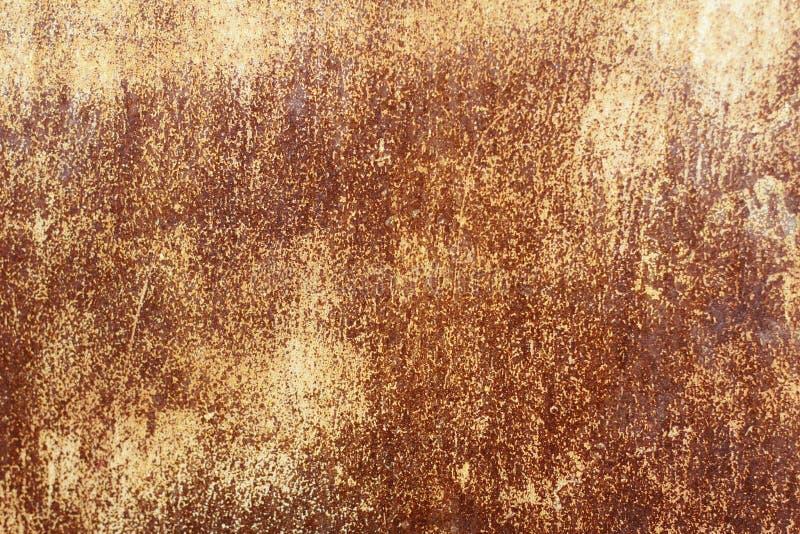 Metaal oude muur Garagedeur Textuur royalty-vrije stock afbeelding