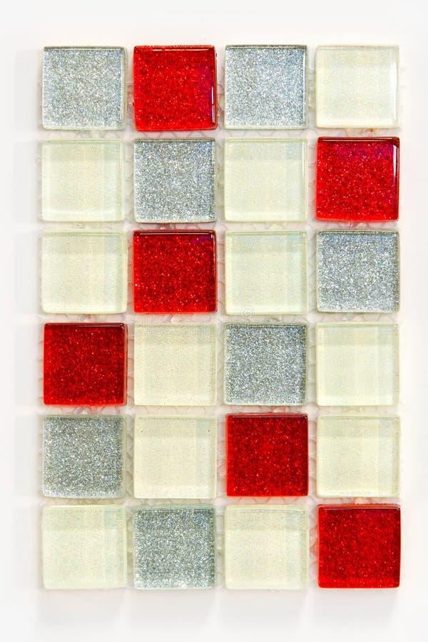 Metaal tegels royalty-vrije stock afbeelding