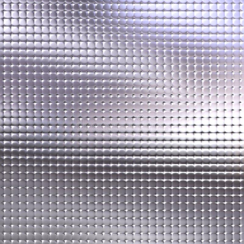 Metaal Textuur royalty-vrije illustratie