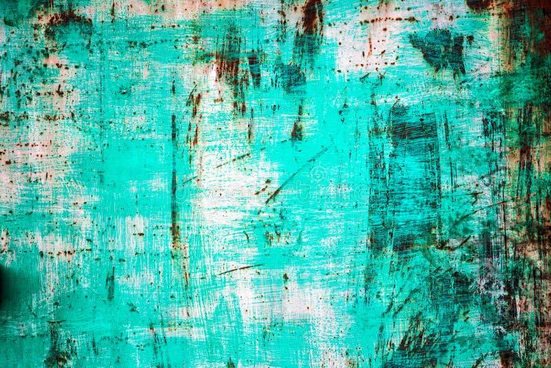Metaal van het textuur het oude blad stock afbeeldingen