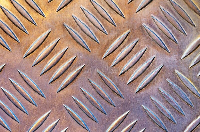 Metaal vloer royalty-vrije stock afbeelding