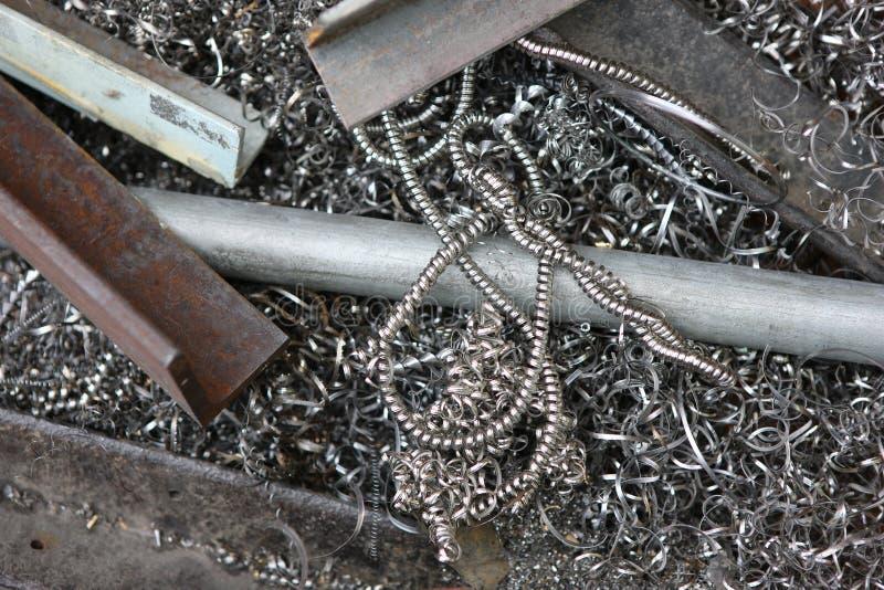 Metaal voor Recycling stock afbeeldingen