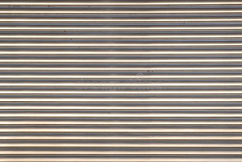 Metaalblind stock foto