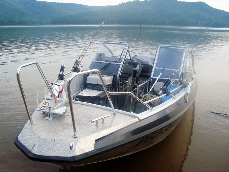 Metaalboot royalty-vrije stock afbeeldingen