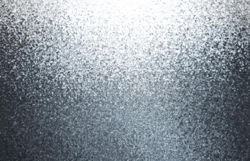 Metaalflikkerings abstracte achtergrond Zilveren korrelstextuur Glanzende grijze illustratie stock foto's