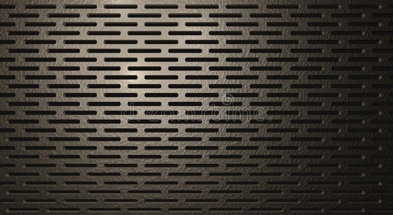 Metaalmesh background texture royalty-vrije illustratie