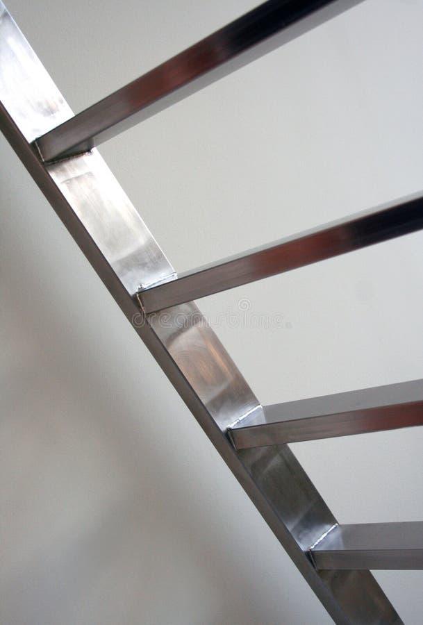 Metaaltreden/Ladder royalty-vrije stock foto's