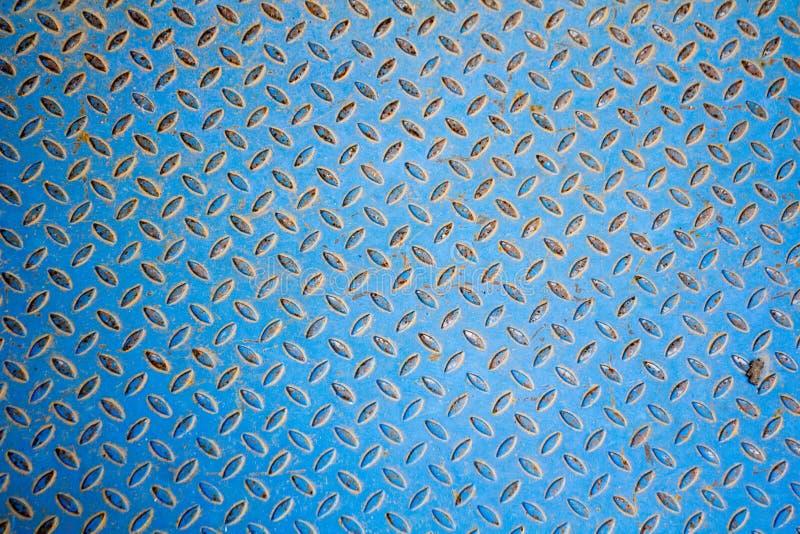 Metaalvloer met een hobbelig patroon royalty-vrije stock foto