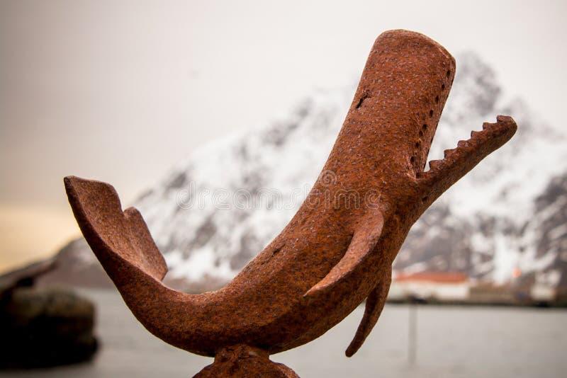 Metaalwalvis stock afbeeldingen