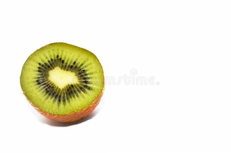 Metade de Kiwi Fruit suculento fotografia de stock royalty free