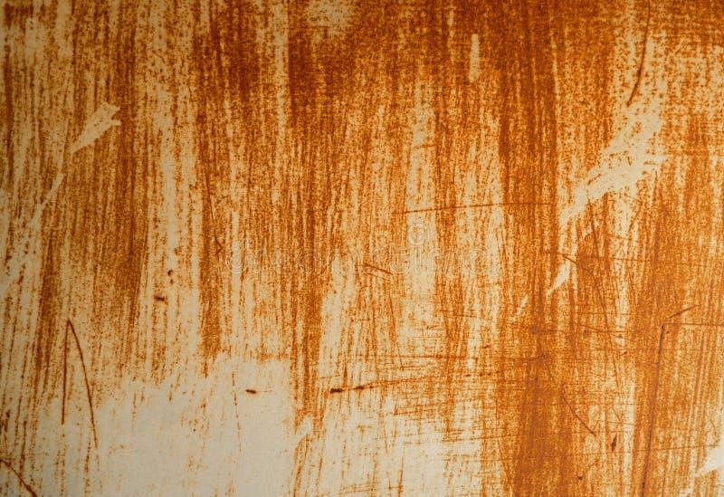 Metal ściana rdzewieje tło obraz royalty free