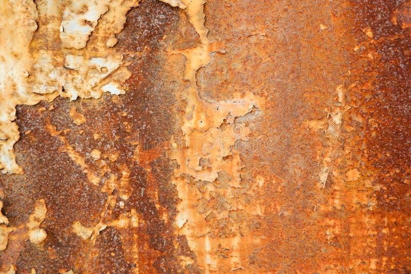 Metal ściana rdzewieje tło obraz stock