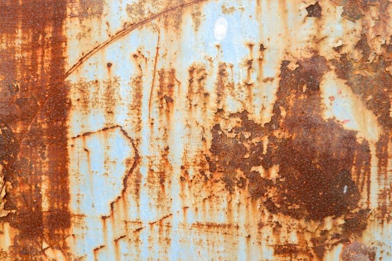 Metal ściana rdzewieje tło obrazy stock