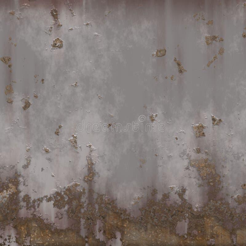 metal ściana ilustracji