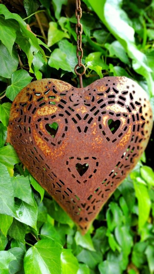 Metal сердце стоковое фото rf