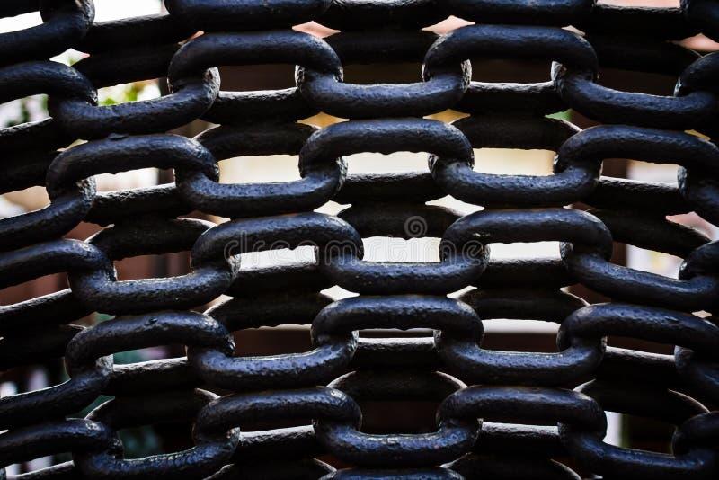 Metal цепи стоковая фотография
