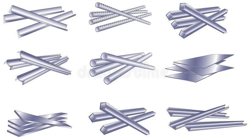Metal ilustração do vetor