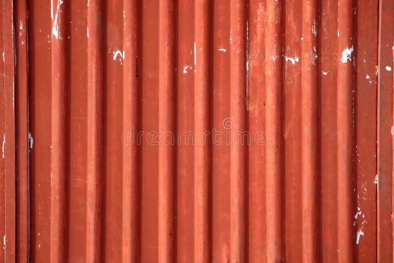 Metal acanalado imagen de archivo