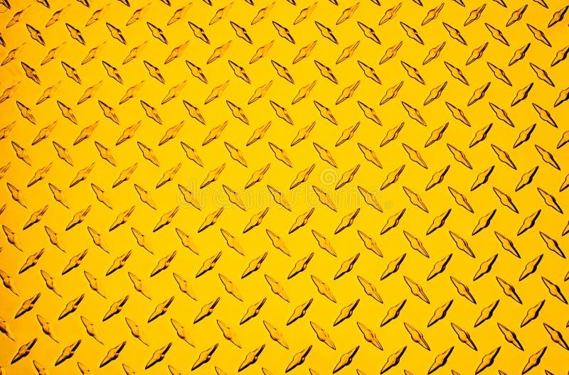 Metal amarelo ilustração stock