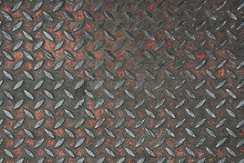 Metal antideslizante viejo imagenes de archivo
