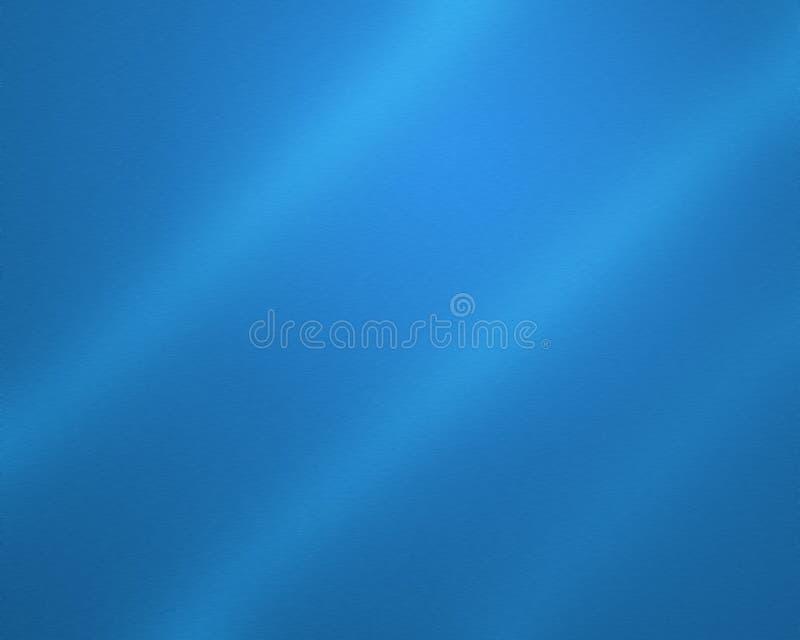 Metal aplicado con brocha azul stock de ilustración
