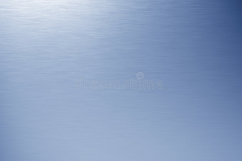 Metal aplicado con brocha azul foto de archivo